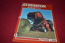 Hesston 5545 5585 Round Baler Dealer's Brochure DCPA2