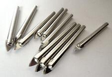 X10 NUOVA 6mm Tungsteno Testa Punte per piastrelle, Cina, vetro, ceramica NUOVO