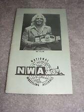 ***1985 Ric Flair Ring Worn Replica Roster Booklet NWA WWE Crockett MACW***