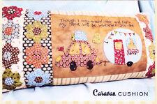 PATTERN - Caravan Cushion - cute pieced & applique PATTERN - The Birdhouse