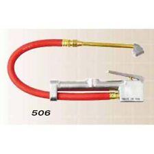 "Milton S506 Dual Head Inflator Gauge with 12"" Air Hose"