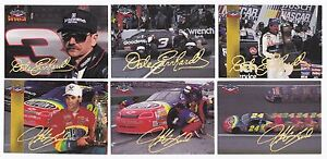 1995 Assets GOLD SIGNATURE PARALLEL #49 Jeff Gordon BV$9! SCARCE! ONE CARD ONLY!