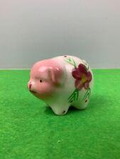"""Vintage Mini 2 1/4"""" Pig Piggy Bank Made in Japan"""