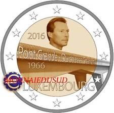 2 Euro Commémorative Luxembourg 2016 - Grande Duchesse Charlotte