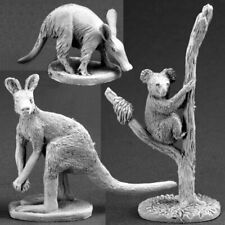Reaper Dark Heaven Legends 03589 Animal Companions 3 Kangaroo Wallaby Koala D&D