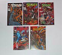 SPAWN & VIOLATOR LOT OF 5 Image Comics UNREAD CONDITION