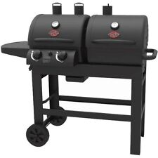 Char-Griller Dual 2 Burner Charcoal/Gas Grill W