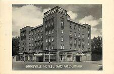 Vintage Postcard Bonneville Hotel Idaho Falls Id Housing K.I.D. Broadcasting