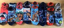 Women's Disney LILO & STITCH 8 Pair Socks Lot New