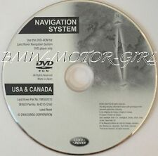 2008 Land Rover Range Rover / Supercharged HSE Navigation DVD Disc U.S. Can.