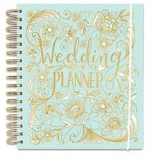 Wedding Planner - Duck Egg Blue - perfect Engagement Gift with sections, checkli