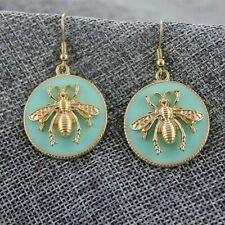 Drop Earrings Dangle Women Ear Fashion Boho Stud Circle Bee European American Us