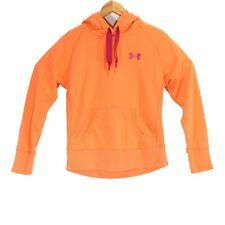 Under Armour Storm Orange Pullover Hoodie - Size Medium