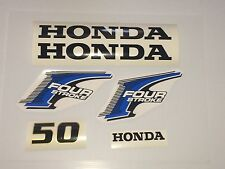Honda 50 hp 4-Stroke Outboard Decal Kit - USA free fast shipping fourstroke