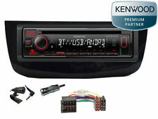 Kenwood Bluetooth USB MP3 Aux In RDS Autoradio Radio Fiat Grande Punto EVO 2010