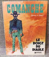 BD EO COMANCHE - Le Doigt Du Diable  - 1977 -HERMANN - GREG -  DARGAUD