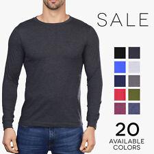 Bella + Canvas Long Sleeve Crew T-Shirt Mens Soft Basic Plain Tee 3501