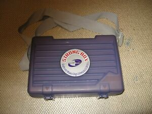 Nyko Strong Box for Gameboy Advance Hard Case w/ Shoulder Strap Purple