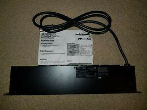 """StarTech.com 8 Outlet 19"""" Horizontal 1U Rack Mount PDU Power Strip"""