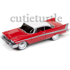 Autoworld Christine 1958 Plymouth Fury 1:64 Night Version AWSS6401 Red