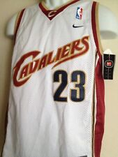 Authentic NIKE BRAND NBA Cleveland Cavaliers JAMES #23 Youth M +2 NWT