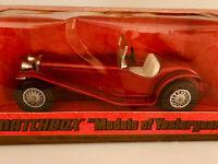 Matchbox Models Of Yesteryear Y3 1934 Riley MPH Red 1973 Lesney