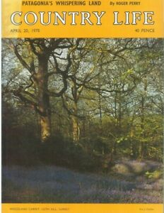 Country Life Magazine Sickert Erddig Park Trout  20 April 1978 Birthday Gift