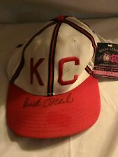 Buck O'Neil Autographed KC Monarchs Baseball Hat Official NLBM collection