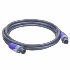 10 Gauge - 10FT - Neutrik NL2FX - Speakon to Speakon Cable
