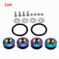 Pro Auto Car Colorful Quick Release Fastener Kit For Bumper Trunk Hatch