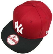 New Era New York Yankees S/M Red Cotton Bloc Snapback Casquette 9 fifty Basecap