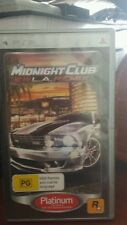 Midnight Club LA Remix PSP - FREE POST