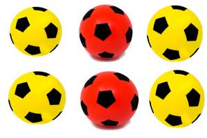 Pack of Six 20cm E-Deals Soft Foam Football - Ideal for schools, nurseries