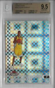 2007 Kevin Durant Stadium Club Xfractor RC- BGS 9.5 Gem Mint... #15/50