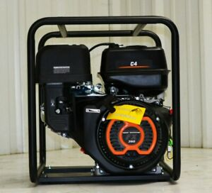 "4"" Water Pump Centrifugal Semi Trash Gas ChampMfg INCH better than honda"