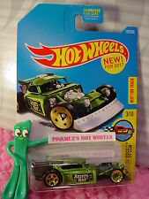 New ARISTO RAT #133✰green pearl;gold 5sp/sw✰Legends Speed✰2017 Hot Wheels case F