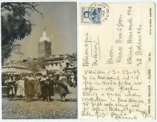 38378-marruecos-Xauen-debna del Majzen-real foto-ak, corriendo 3.12.1963