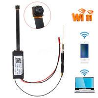 Full HD 1080P Wireless WiFi Hidden Spy Camera DIY Module DV DVR Motion Nanny Cam