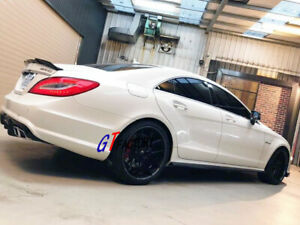 CARBON SIDE SKIRT SPOILER FOR MERCEDES BENZ W218 CLS63 ONLY