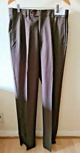 Austin Reed 100% Worsted Wool Dress Pants Mens Size 34 x 37 Regular Unhemmed NWT