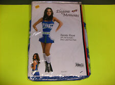 ELEGANT MOMENTS VARSITY VIXEN CHEERLEADER WOMEN HALLOWEEN COSTUME MEDIUM