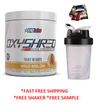 EHPLABS OXYSHRED THERMOGENIC FAT BURNING & SHAKER