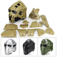 G4 system Helmet Airsoft Paintball CF CS Game Full Face Mask Tactical Protective