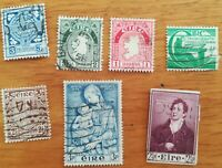 lot N°102 - 7 timbres IRLANDE EIRE