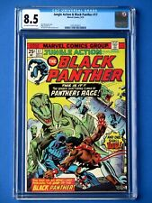 Jungle Action #17 - Featuring Black Panther - CGC 8.5 - Killmonger Appearance