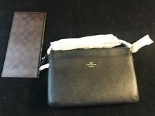 BNWT COACH NEW YORK East/West XBody with Pop Up Pouch XGrain Leather F57788