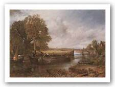View on the Stour Near Dedham John Constable Art Print 18x25