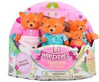 Lil Woodzeez Tippytail Fox Family in Cares A Lot  Kindergarten Figure Set