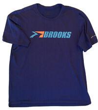 Brooks Running Shirt Breathable Runner Exercise Biking Yoga Weightlifting Activ