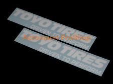 "2x 15"" 38cm Toyo Tires decal sticker perform T1R Proxes GP Drift D1 driven car R"